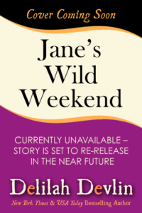 Jane's Wild Weekend (Cover Coming Soon)