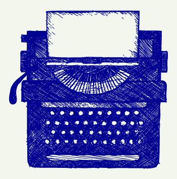 bigstock-Typewriter-87936647