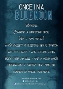 Once in a Blue Moon Trading Card (back)