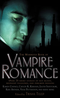 The Mammoth Book of Vampire Romance (US cover)