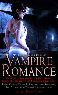 The Mammoth Book of Vampire Romance (UK cover)